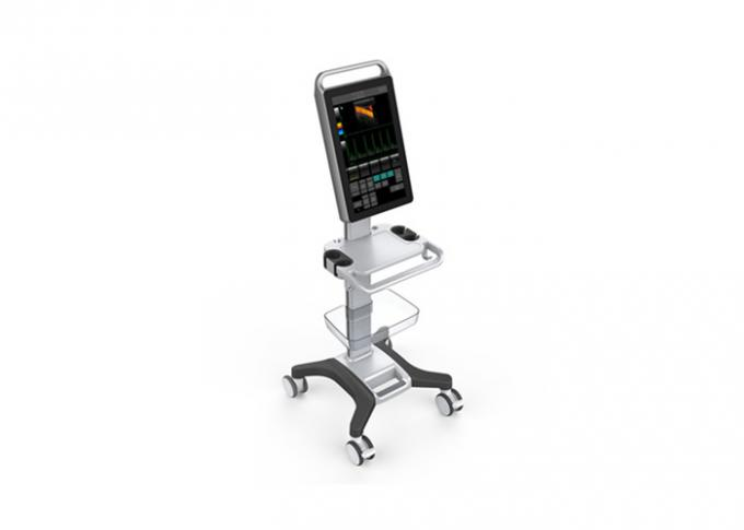 Machine de Doppler de couleur de scanner d'ultrason de couleur de chariot avec 18,5 » moniteurs médicaux de contact